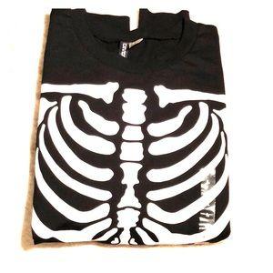H&M Skeleton sweater Halloween
